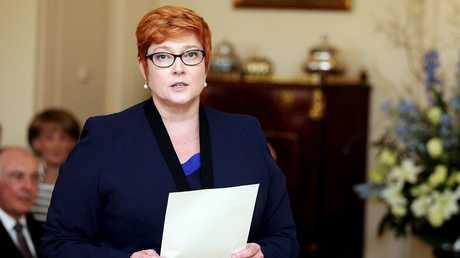 وزيرة الدفاع الأسترالية ماريز باين