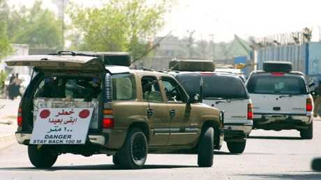 شركة بلاك ووتر الأمنية في العراق - أرشيف