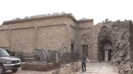 خطة لإعادة ترميم المسجد الأموي بحلب