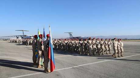 القوات الروسية في قاعدة حميميم