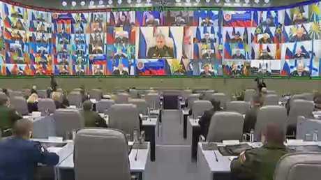 شويغو: بدأنا بتشكيل قوات دائمة في سوريا