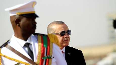 الرئيس التركي رجب طيب أردوغان في الخرطوم