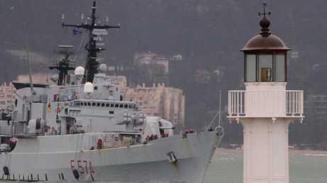 سفينة الناتو في ميناء فارنا البلغاري - صورة أرشيفية