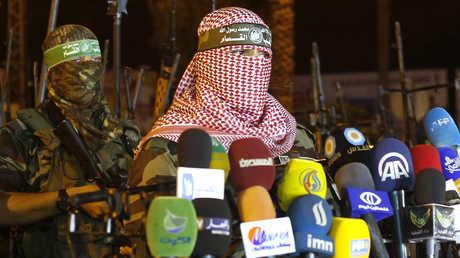 أبو عبيدة، الناطق باسم كتائب عز الدين القسام الجناح العسكري لحركة حماس
