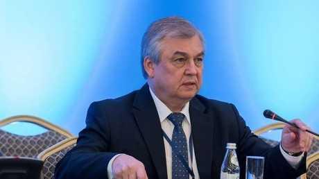 ألكسندر لافرينتيف المبعوث الروسي الخاص للتسوية السورية
