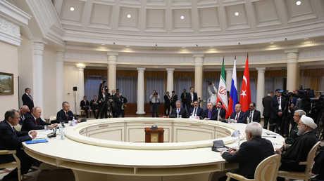 لقاء ثلاثي لرؤساء روسيا وتركيا وإيران جاء في سوتشي 22 نوفمبر/تشرين الثاني الماضي