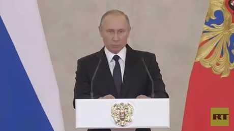 بوتين: ساعدنا بالحفاظ على الدولة السورية
