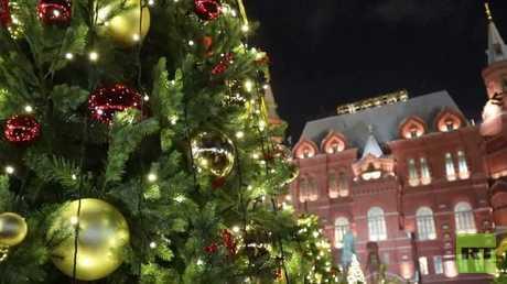 مهرجان رحلة إلى عيد الميلاد ينطلق بموسكو