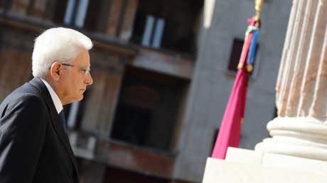 لرئيس الإيطالي سيرجيو ماتاريلا