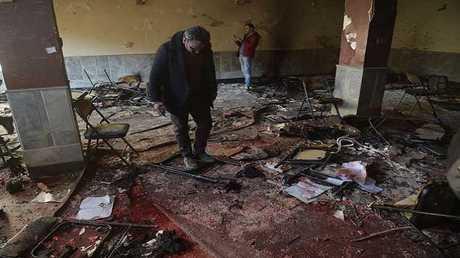 المجزرة التي ارتكبها داعش داخل مركز ثقافي في كابل