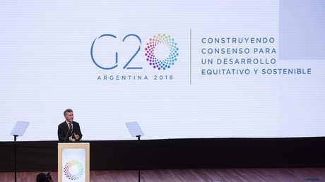 قمة مجموعة العشرين - 30.11.17