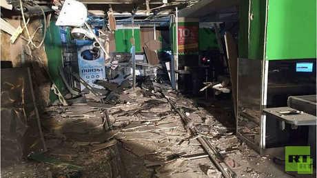 تفجير عبوة ناسفة في مركز تجاري بسان بطرسبورغ