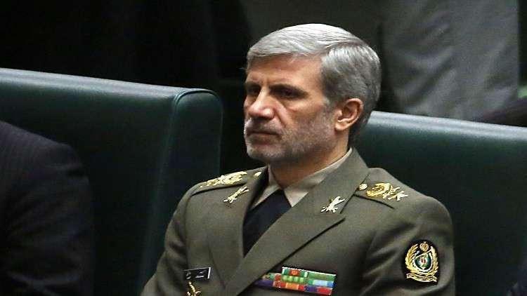 وزير الدفاع الإيراني: الأعداء يبذلون قصارى جهدهم لزعزعة أمن البلاد