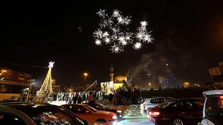 إصابة أكثر من 200 شخص بالألعاب النارية في بغداد ليلة رأس السنة