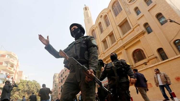 مصر.. حبس منفذ هجوم كنيسة حلوان 15 يوما على ذمة التحقيق