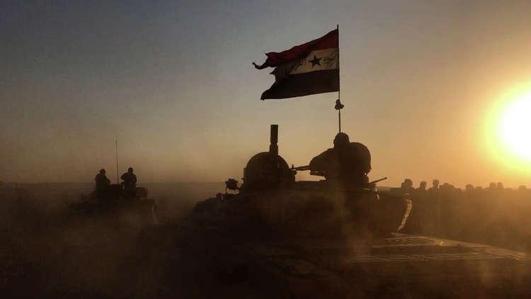 التلول الحمر... الجيش السوري