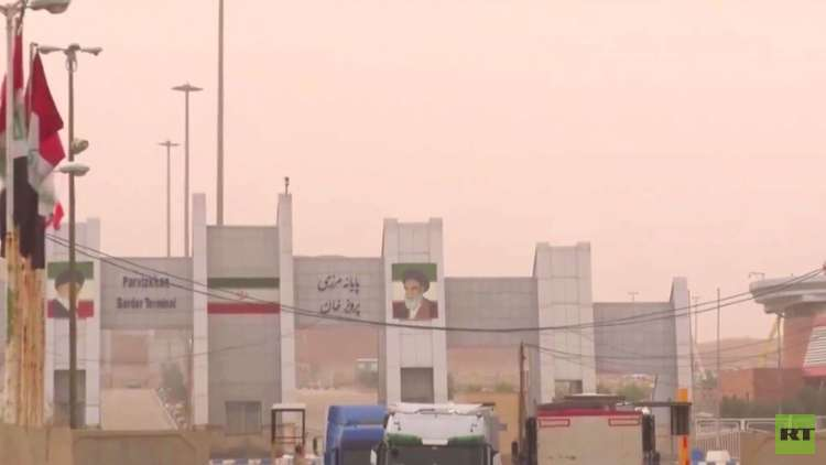 إعادة فتح المعابر بين طهران وأربيل