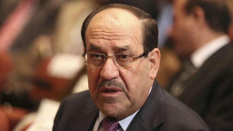 نوري المالكي يبدي رأيه فيما يحصل بإيران