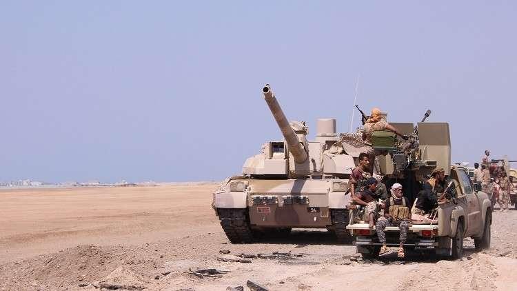الجيش اليمني يقطع إمدادات الحوثيين في الحديدة