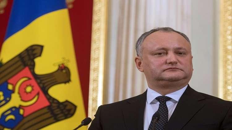 تعليق صلاحيات الرئيس المولدوفي والخلاف قانون