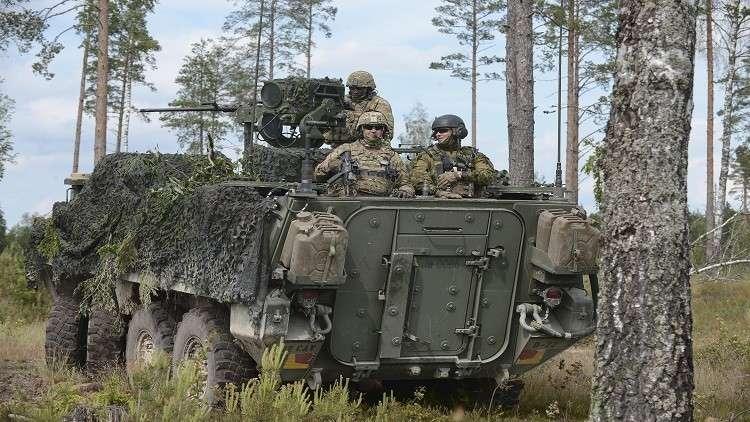 إستونيا تشهد تبديلا دوريا لقوات الناتو