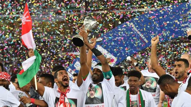 عمان تحرز لقب كأس الخليج 23