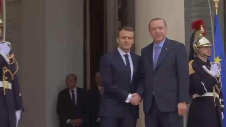 وفاق فرنسي تركي بعدد من القضايا الدولية