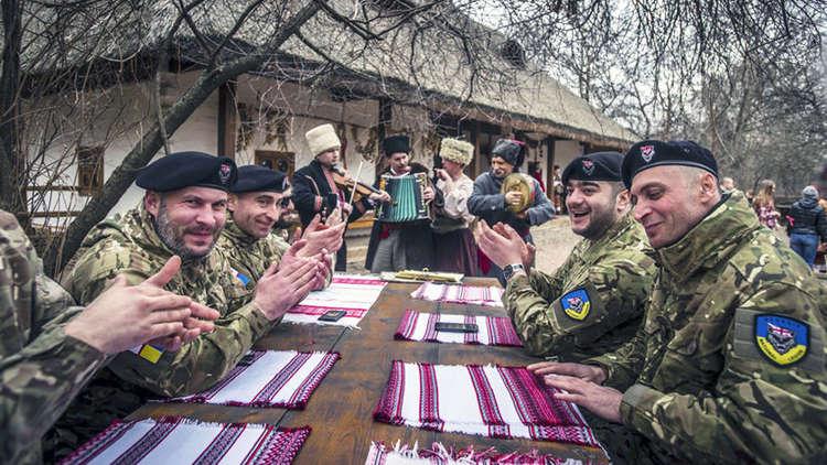 الفيلق الجورجي ينسحب من الجيش الأوكراني