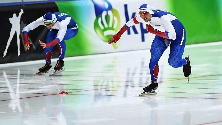 روسيا تواصل حصد الذهب في بطولة أوروبا للتزلج السريع