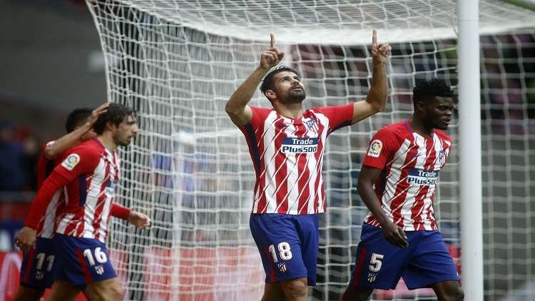 أتلتيكو مدريد بعشرة لاعبين يتغلب على خيتافي