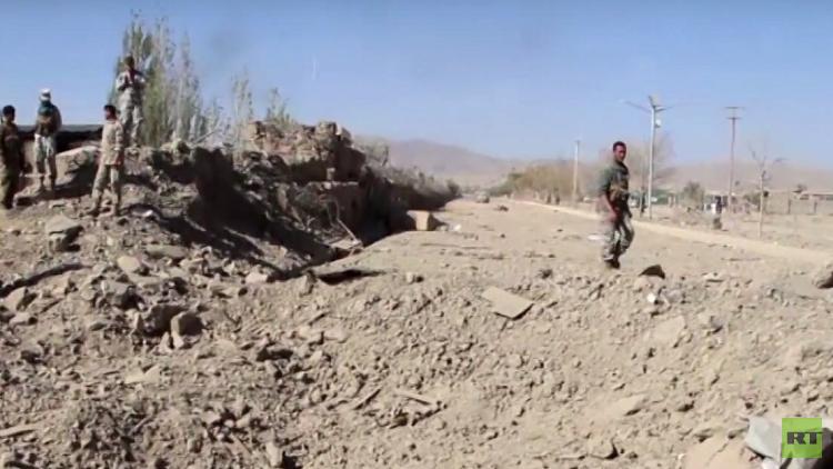 مقتل 14 داعشيا جراء قصف جوي شرقي أفغانستان