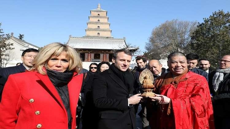 ماكرون يستميل الصين