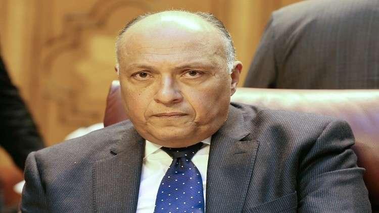 وزير الخارجية المصري يرد على تسريبات