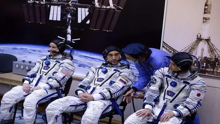 رائد الفضاء الياباني ازداد طولا 9 سمفي الفضاء