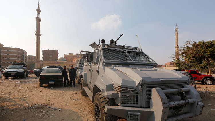 مقتل 8 عناصر إرهابية في شبه جزيرة سيناء في تبادل لإطلاق النار مع الشرطة. 5a54bfced43750625b8b