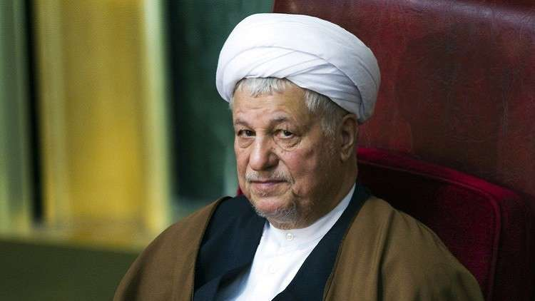 الرئيس الإيراني الأسبق الراحل، هاشمي رفسنجاني