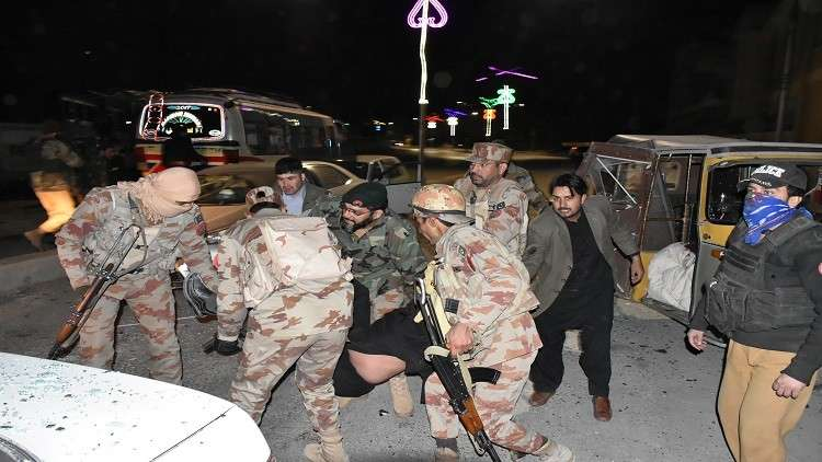 6 قتلى في تفجير انتحاري جنوب غربي باكستان