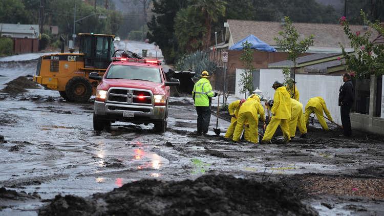 مصرع 6 أشخاص في فيضانات جنوب كاليفورنيا