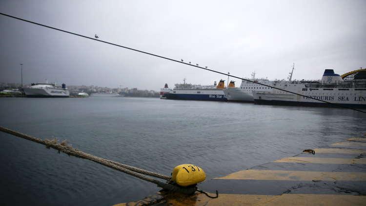 اليونان.. احتجاز سفينة تحمل متفجرات متجهة إلى ليبيا