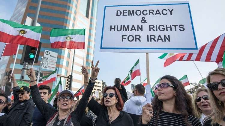 إيران تندد بقرار مجلس النواب الأمريكي الداعم للاحتجاجات