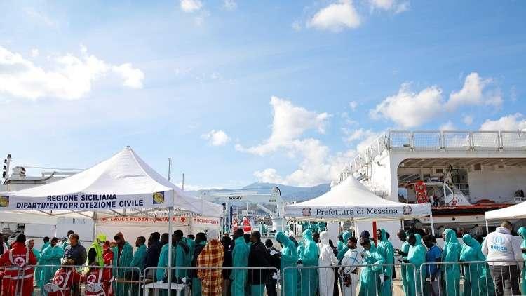 إيطاليا تقترح قواعد جديدة لتخفيض عدد المهاجرين