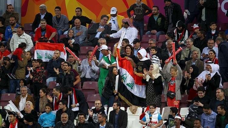 """الجماهير العراقية ترحب بالسعودية بهاشتاغ """"دارك يالأخضر"""""""