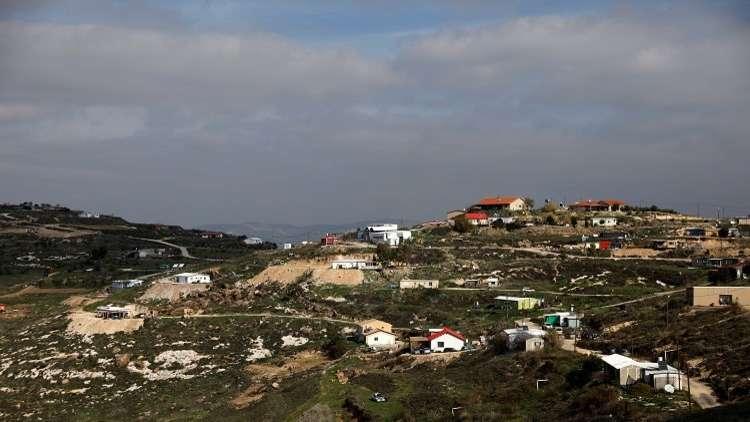 إسرائيل ستبني أكثر من 1122 وحدة استيطانية جديدة في الضفة الغربية