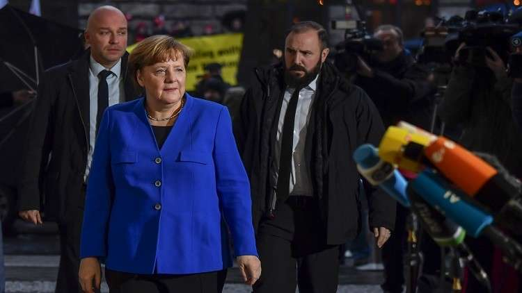 اليوم آخر فرصة لميركل لتشكيل حكومة ائتلافية