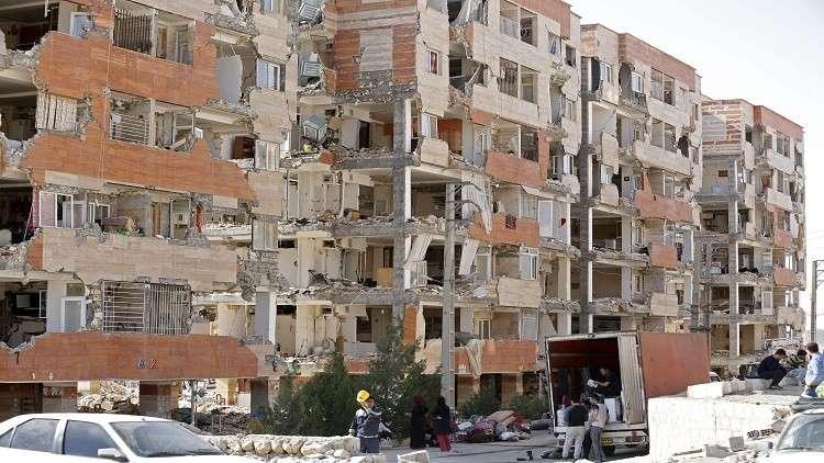 سلسلة زلازل تضرب إيران في 24 ساعة وتطال العاصمة العراقية بغداد