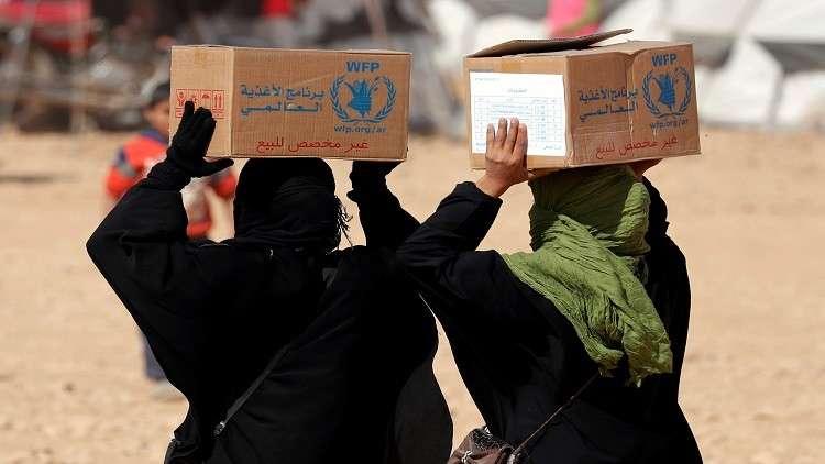 لاجئو مخيم الركبان في سوريا بانتظار إغاثة إنسانية من مركز المصالحة الروسي