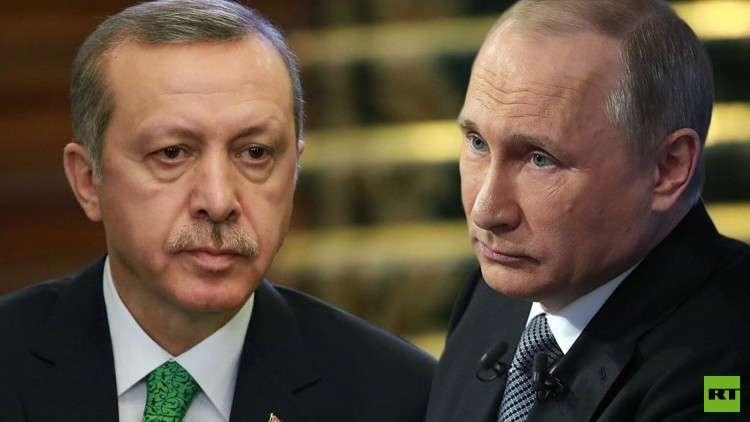 بوتين وأردوغان يتفقان على تكثيف التنسيق العسكري والاستخباراتي