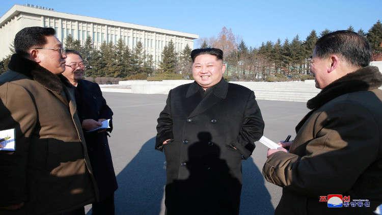 النشاط الأول لزعيم كوريا الشمالية في العام الجديد