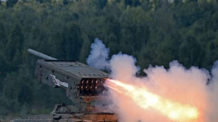 زيادة ملحوظة في إنتاج صواريخ لقاذف اللهب