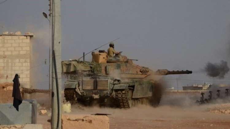 الجيش التركي يقصف مواقع